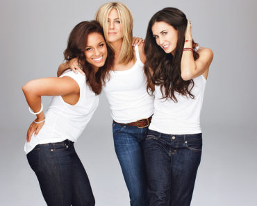 Alicia Keys, Jennifer Aniston and Demi Moore