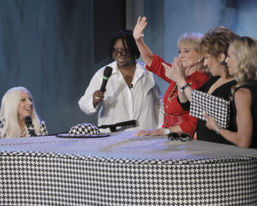 LADY GAGA, WHOOPI GOLDBERG, BARBARA WALTERS, JOY BEHAR, ELISABETH HASSELBECK