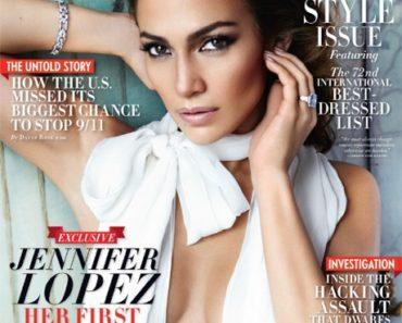 Jennifer Lopez Vanity Fair