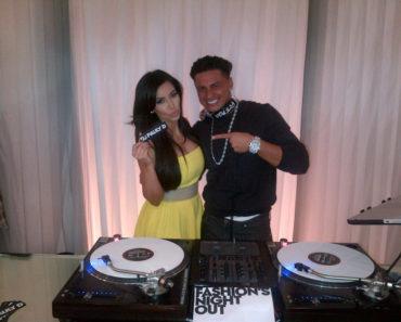 Kim Kardashian & Pauly D