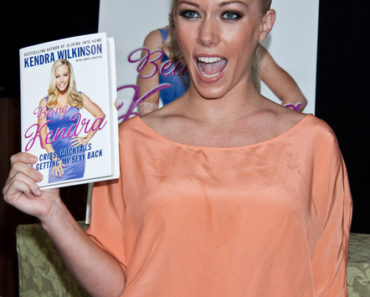 "Kendra Wilkinson ""Being Kendra: Cribs, Cocktails, and Getting My Sexy Back"" Book Signing at Bookends in Ridgewood on September 21, 2011"