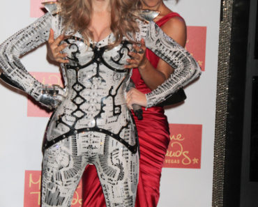 Fergie of The Black Eyed Peas Unveils Her Wax Statue at Madame Tussauds Las Vegas on September 22, 2011