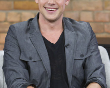 Cory Monteith Visits The Marilyn Denis Show in Toronto on September 12, 2011