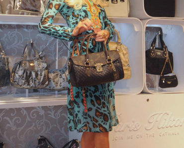 Paris Hilton Launches Paris Hilton Handbag & Accessories in India on September 25, 2011