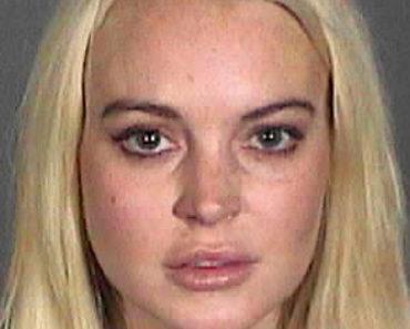 Lindsay Lohan Mug Shot 10-19-11