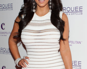 Kim Kardashian Celebrates Her Birthday At Marquee Nightclub
