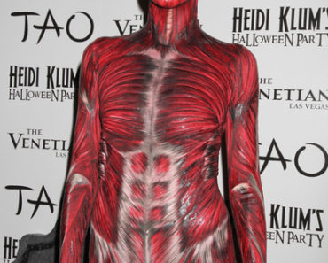 Heidi Klum's 12th Annual Halloween Party at Tao Nightclub in Las Vegas on October 29, 2011