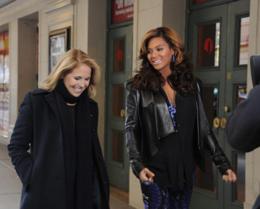 KATIE COURIC, BEYONCE
