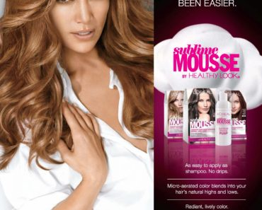 Jennifer Lopez Sublime Mousse ad
