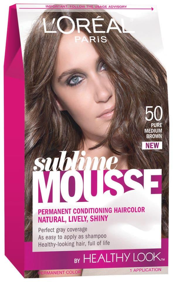 Foam Hair Colors