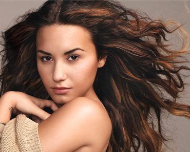 Demi Lovato/Glamour