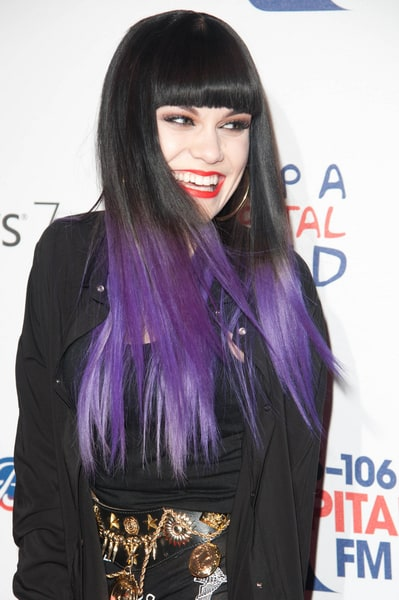 black violet ombre hair - photo #24