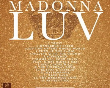 Madonna New Album LUV