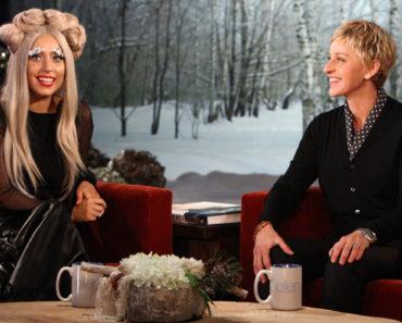 Lady Gaga on Ellen