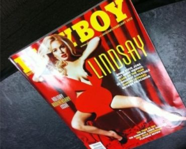 Lindsay Lohan Playboy Cover