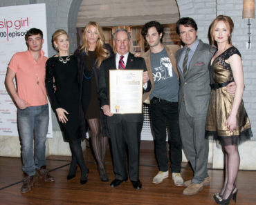 "Mayoral Proclamation in Celebration of the ""Gossip Girl"" 100th Episode at Silvercup Studios in Queens on January 26, 2012"