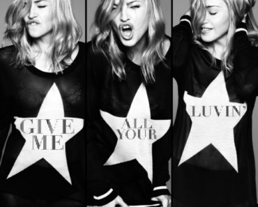 INTERSCOPE RECORDS MADONNA GIVE ME ALL YOUR LUVIN