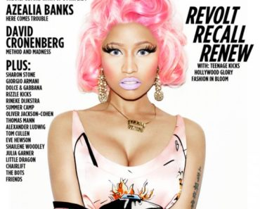 Nicki Minaj/Wonderland Magazine