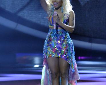 AMERICAN IDOL: Nicki Minaj performs