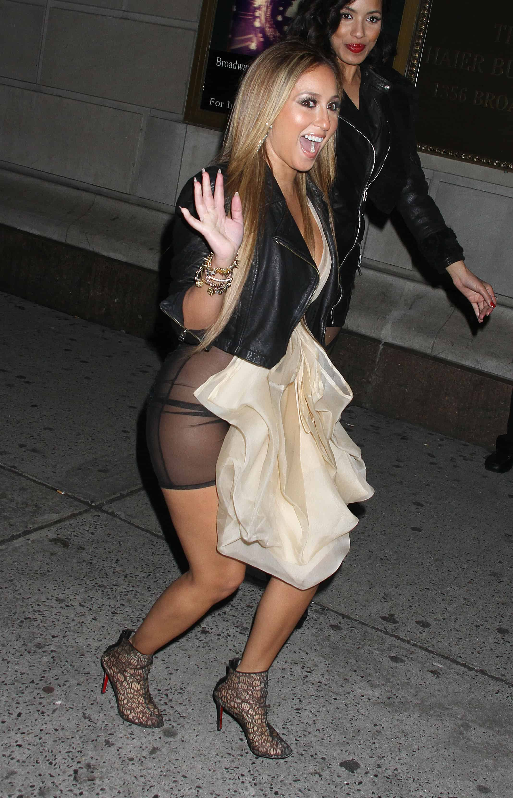 The beautiful Adrienne Bailon ...