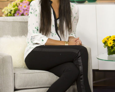 Camilla Alves Visits The Marilyn Denis Show In Toronto On March 30, 2012
