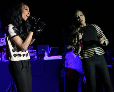 Monica and Brandy in Concert at V103's Conversation/Soul Session at the W Hotel in Atlanta - March 22, 2012