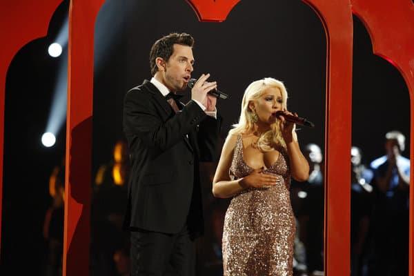 Did Christina Aguilera Suffer a Nip Slip?