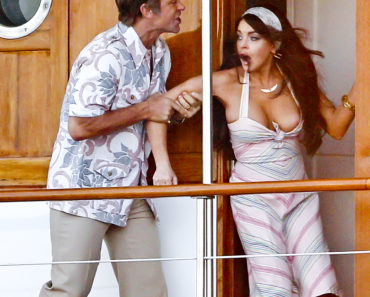 Lindsay Lohan Comes Out of Her Top While On Set Of 'Liz And Dick'
