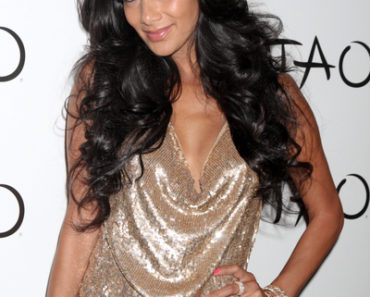 Nicole Scherzinger 34th Birthday Celebration at Tao Nightclub in Las Vegas on June 23, 2012