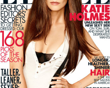 Katie Holmes/Elle