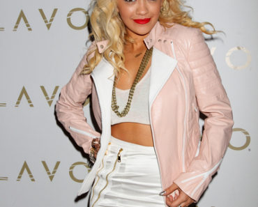 Rita Ora Hosts Stereo Saturdays at Lavo Nightclub in Las Vegas on July 28, 2012