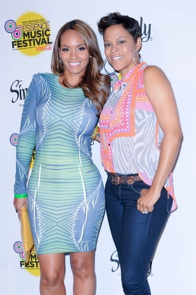 Evelyn Lozada Amp Shaunie O Neal Spotted At Essence Music