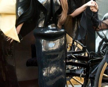"""Lady Gaga """"Fame"""" Eau de Parfum Launch at Macy's Herald Square - Arrivals"""