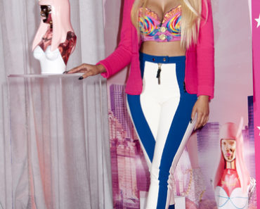 "Nicki Minaj ""Pink Friday"" Fragrance Launch at Macy's Herald Square in New York City on September 24, 2012"