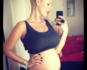 Amber Rose 21 Weeks
