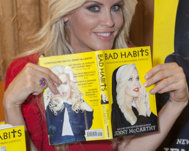 "Jenny McCarthy ""Bad Habits: Confessions of a Recovering Catholic"" Book Signing at Hilton Hotel in New York City on October 3, 2012"