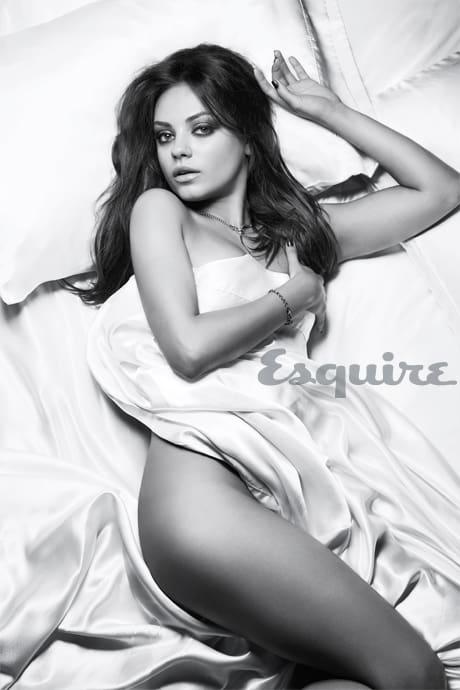 Mila Kunis Topless Esquire Magazine Beautelicious