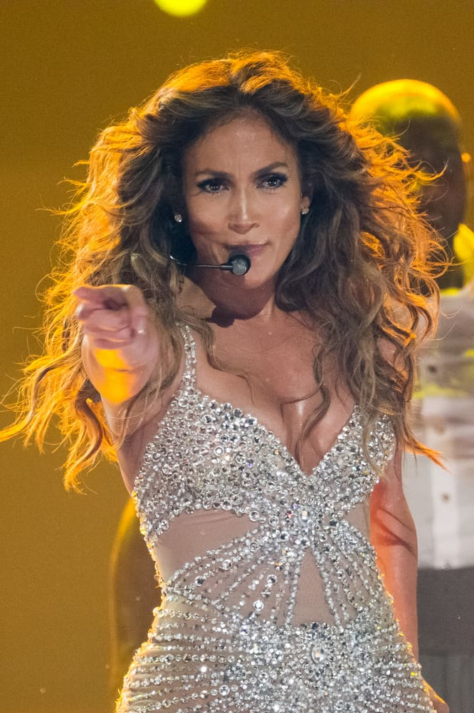 Jennifer Lopez Has Major Nip Slip During London Concert