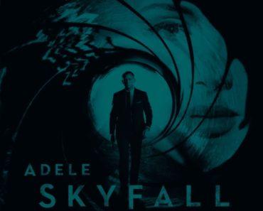 COLUMBIA RECORDS ADELE SKYFALL
