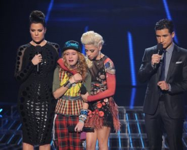 THE X FACTOR: Beatrice Miller is eliminated on THE X FACTOR