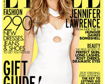 Jennifer Lawrence Elle Magazine (4)