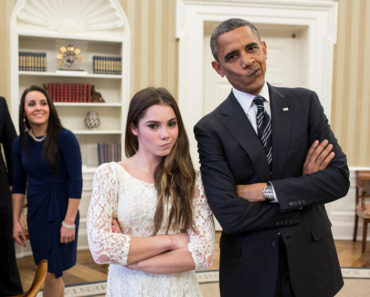 Pres Obama & McKayla Maroney