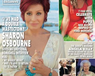 Sharon Osbourne Hello Mag