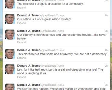 Donald Trump Rant