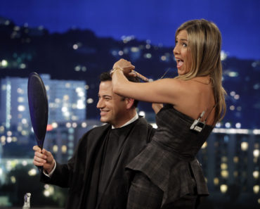 JIMMY KIMMEL, JENNIFER ANISTON