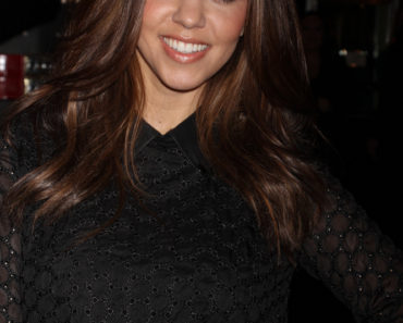 Kourtney Kardashian Appears at Kardashian Khaos in Las Vegas on January 19, 2013