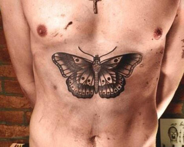 Harry Styles Butterfly Tat