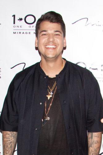 Rob Kardashian 26th Birthday Celebration at 1Oak Nightclub in Las Vegas on March 15, 2013