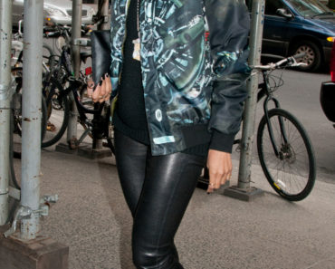 Ciara Sighted in Chelsea in New York City on March 21, 2013