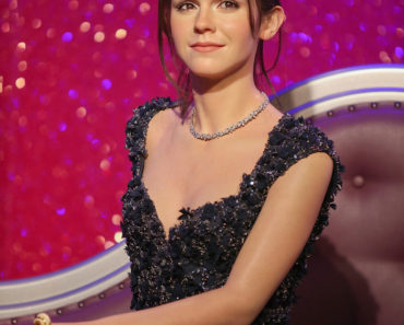 Madame Tussauds London Unveil of Emma Watson Waxwork Figure on March 26, 2013